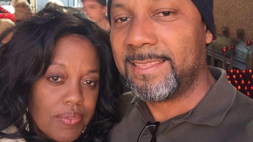 Cedric Anderson and Karen Elaine Smith