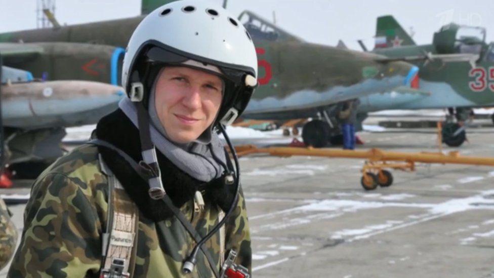 Russian pilot Roman Filippov