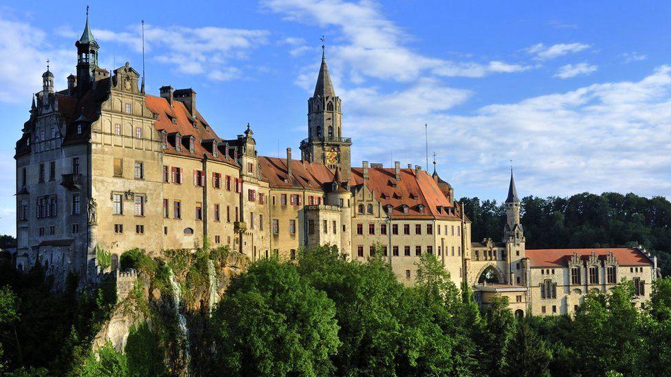 Sigmaringen Castle in Germany