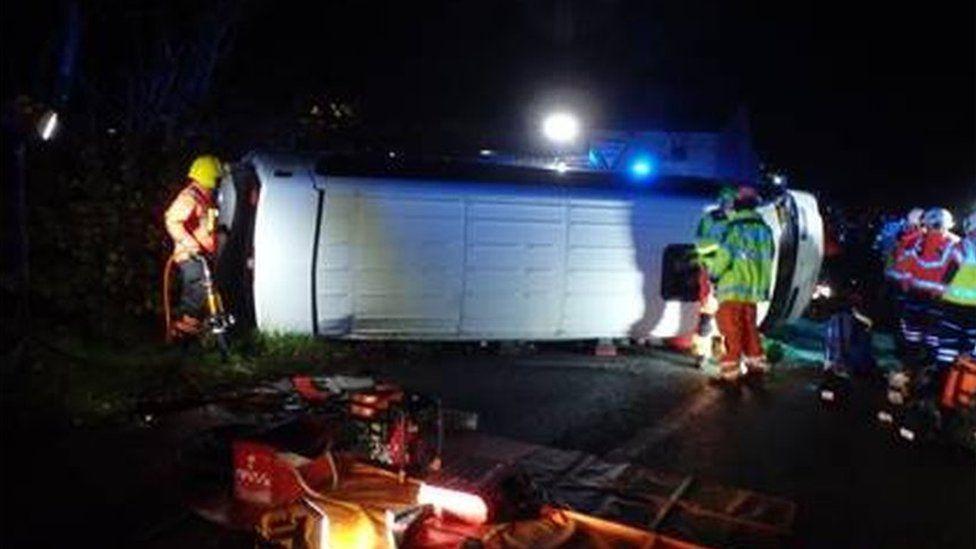 Bluntisham crash