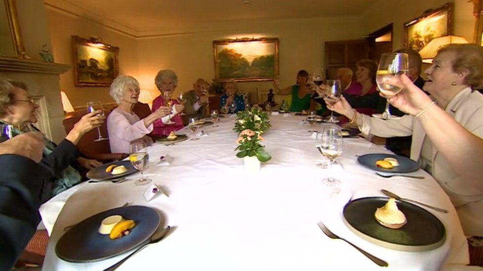 Grace Jones birthday meal
