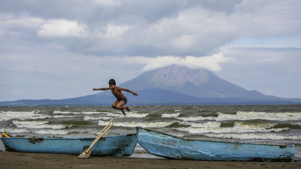 Cocibolca lake in Nicaragua