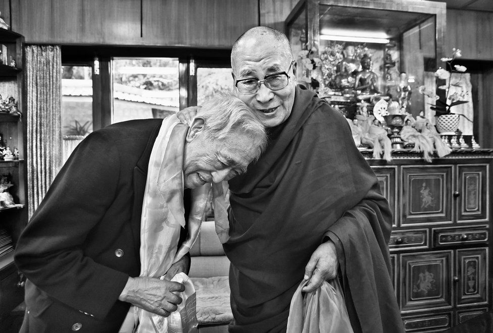 While Tibetans celebrated His Holiness' 80th birthday worldwide on 6 July 2015, at home in Dharamsala he hosted his siblings and their children and grandchildren to lunch.