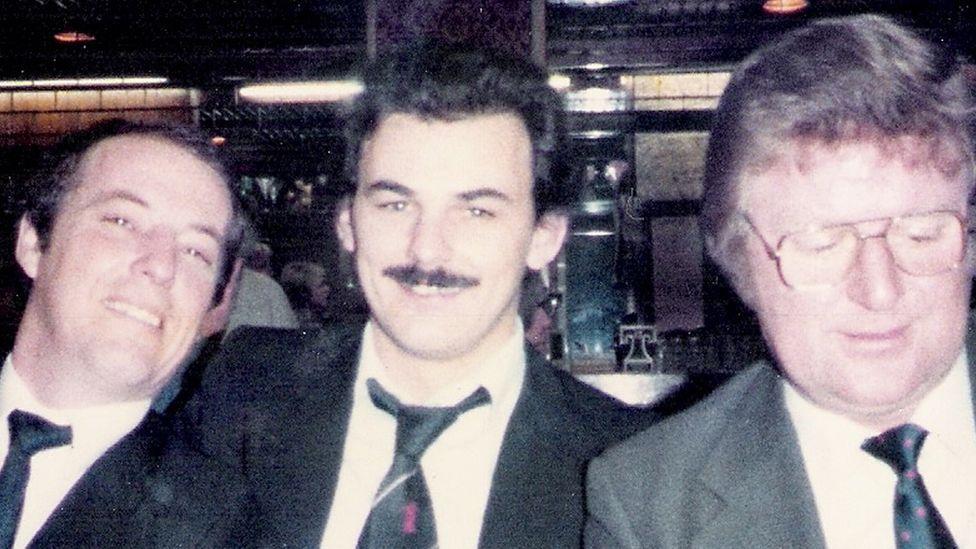 David Morley, David Burgess and Harry Thomas