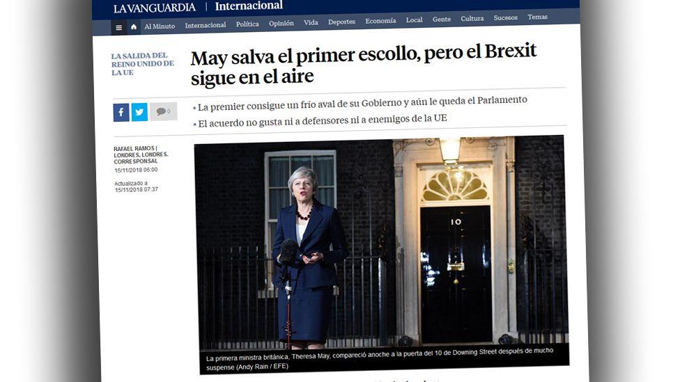 Screengrab from La Vanguardia