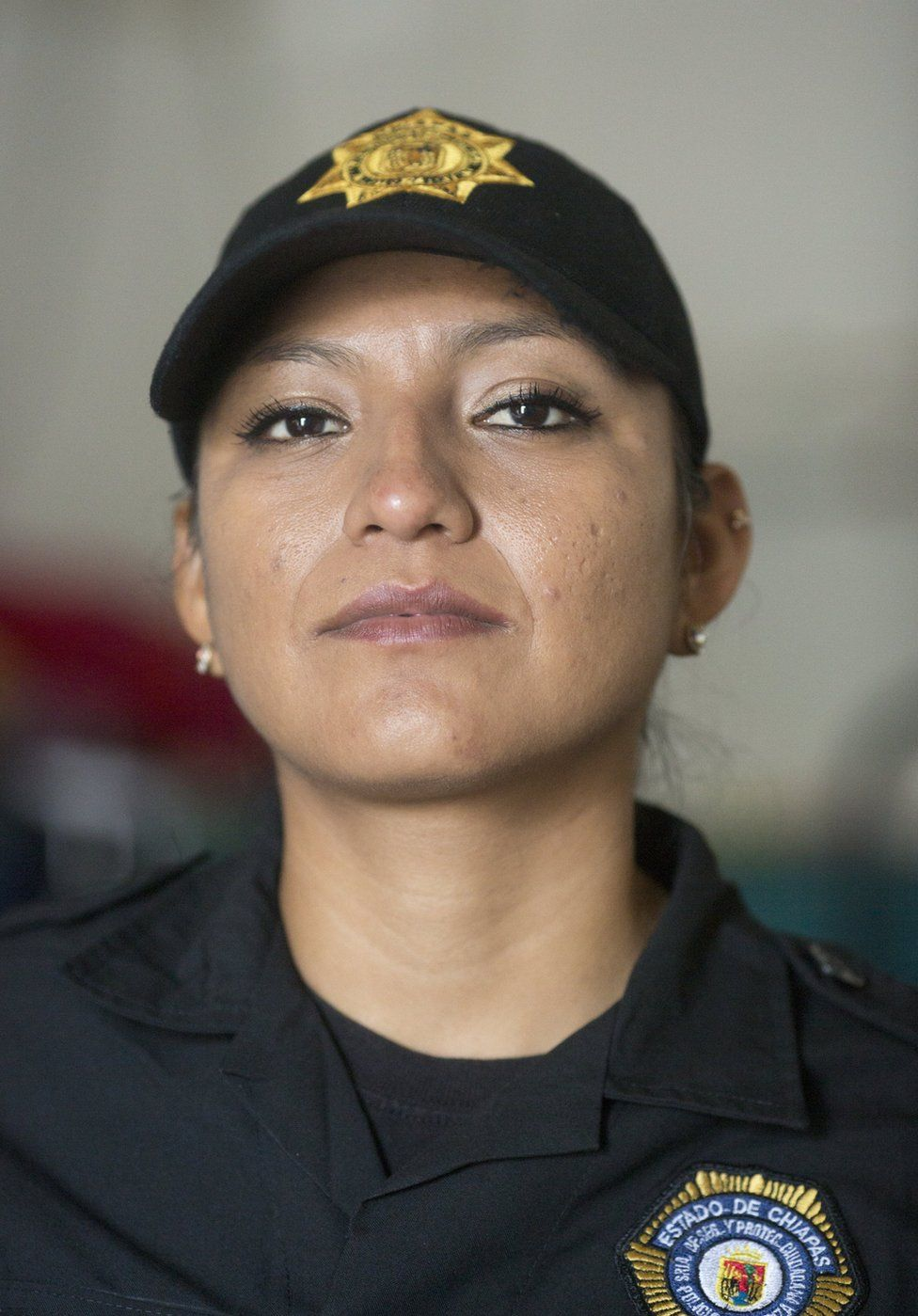 Sgt Lopez in her uniform