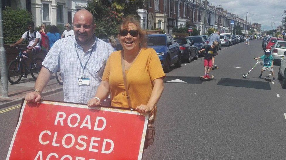 Southsea road closure