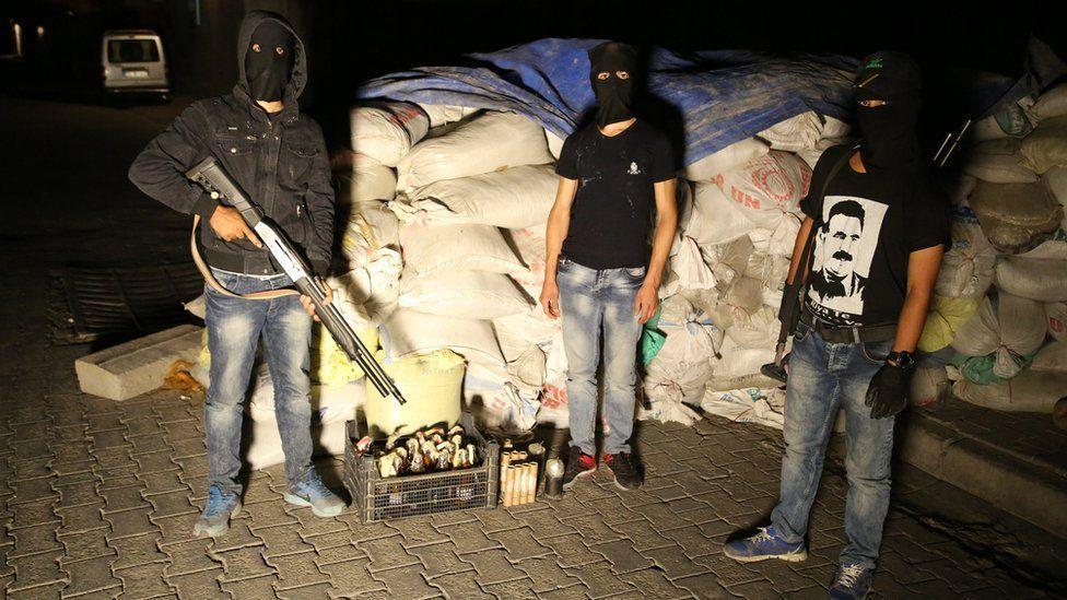 Night militia in Cizre