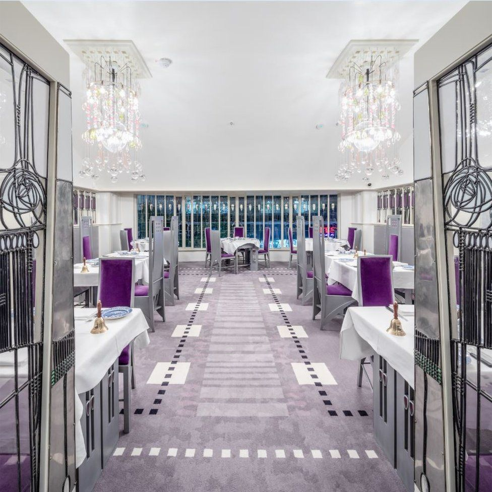Mackintosh at the Willow, Glasgow (Simpson & Brown for Willow Tea Rooms Trust)