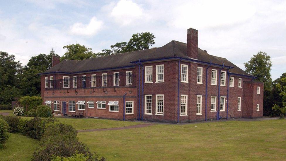 Exterior of Aston Hall