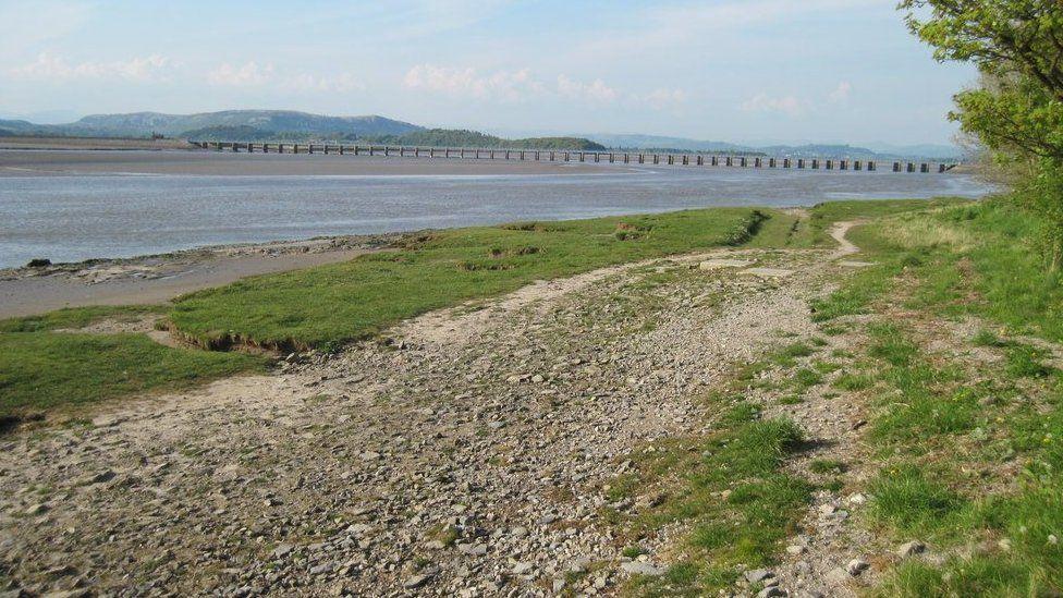 Coastal path near Arnside