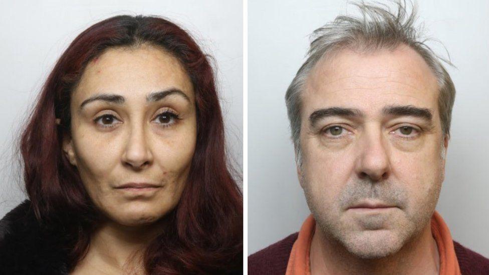 Police mugshots of Paolo Patricia Morrish and her husband David Morrish