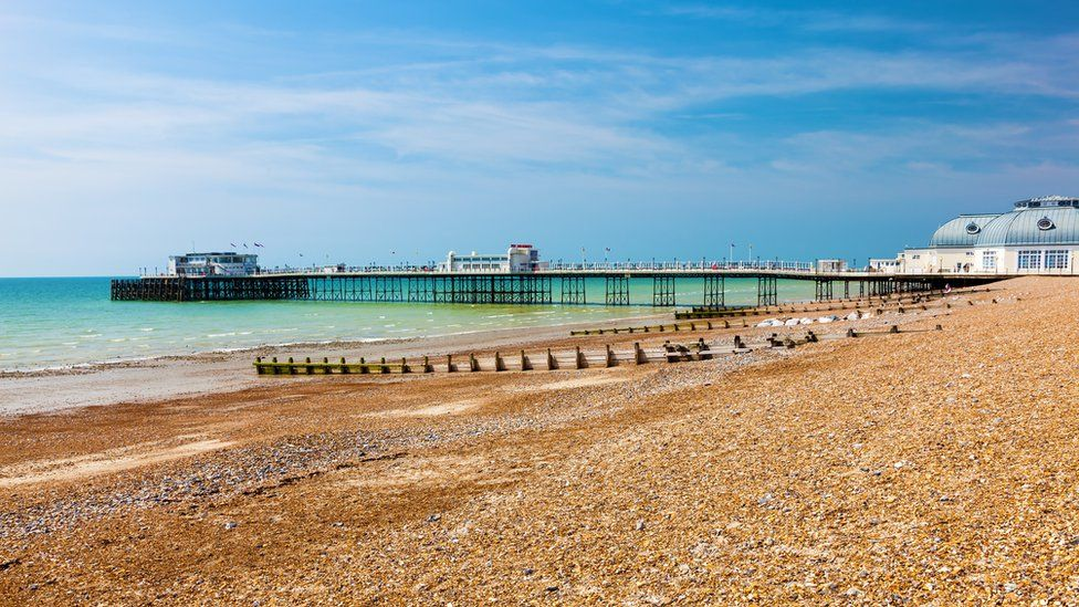 A bright day at Worthing