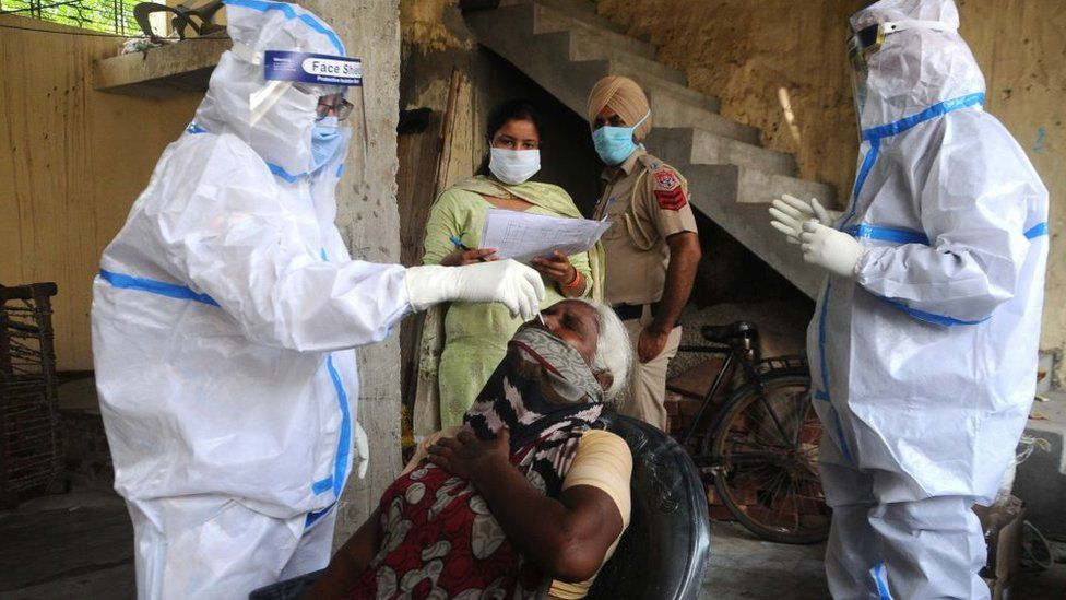 India coronavirus: Rumours hamper testing in Punjab - BBC News