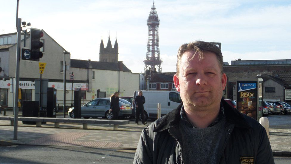 Blackpool's Labour leader, Simon Blackburn