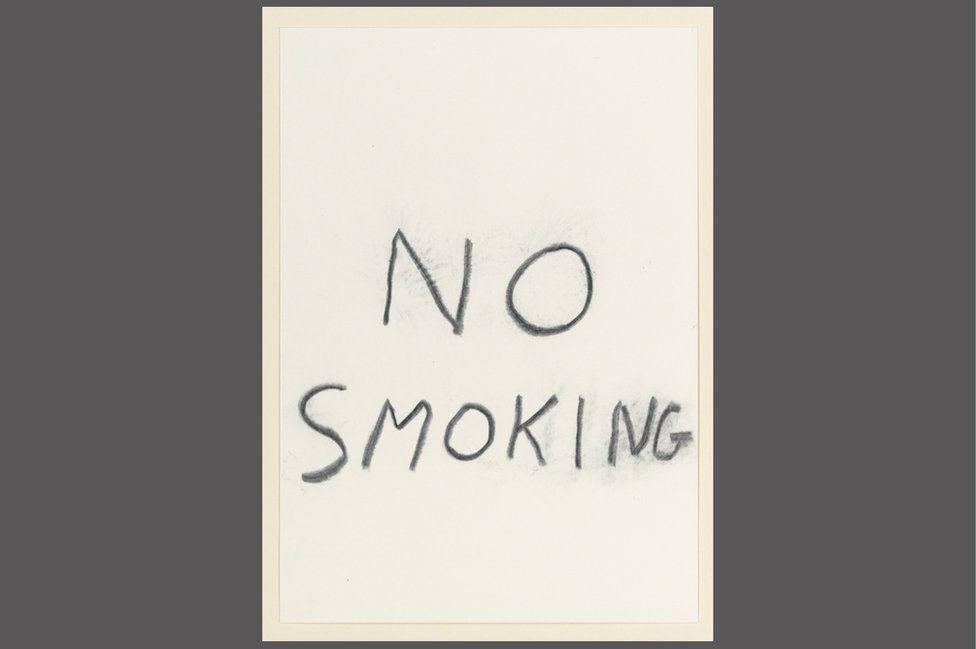 David Shrigley - No Smoking