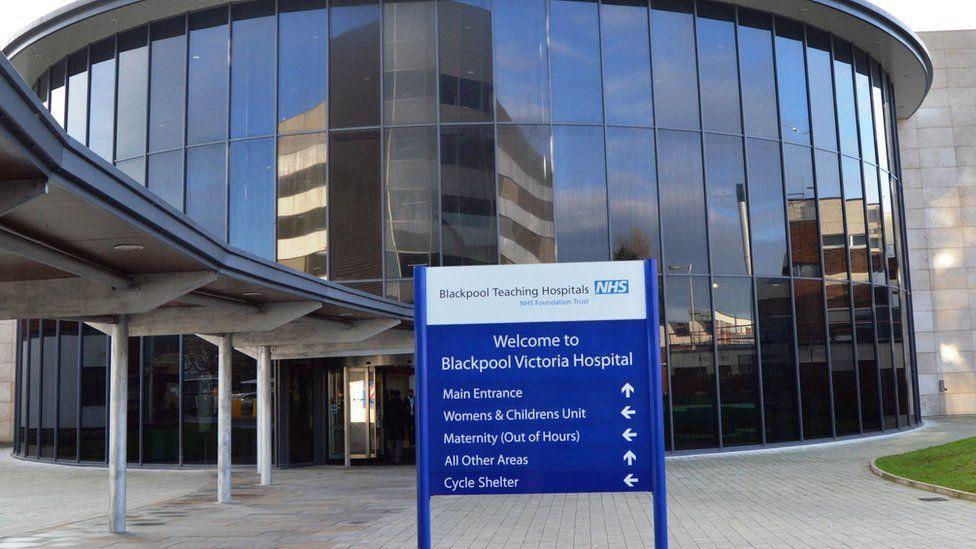 Blackpool Victoria Hospital entrance