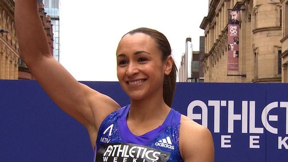 Jessica Ennis-Hill finishes third in Manchester comeback