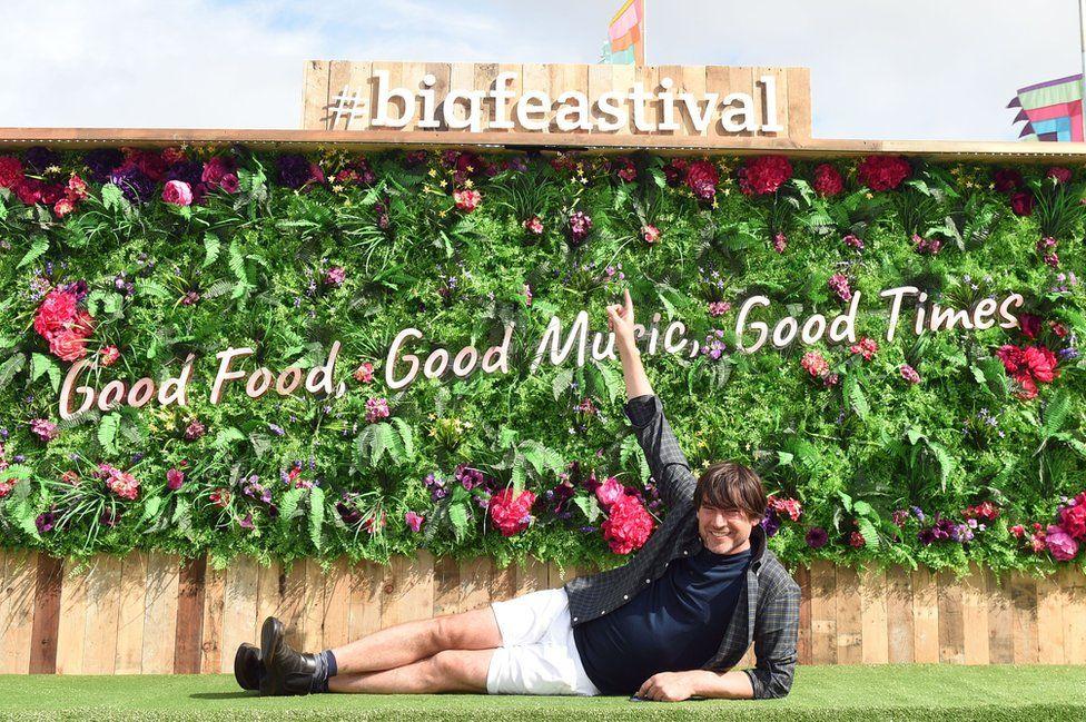 Alex James at The Big Feastival