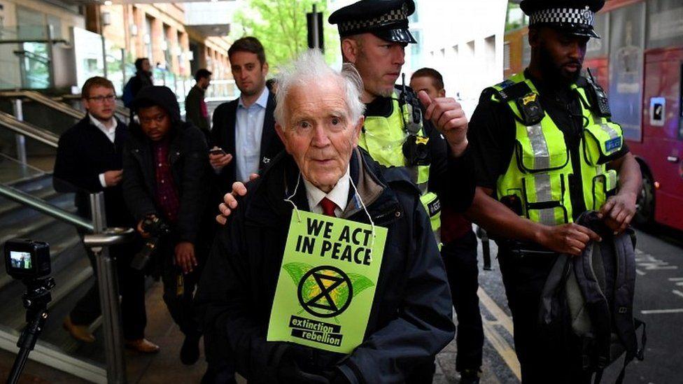 DLR protester Phil Kingston