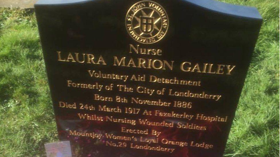 laura gailey headstone