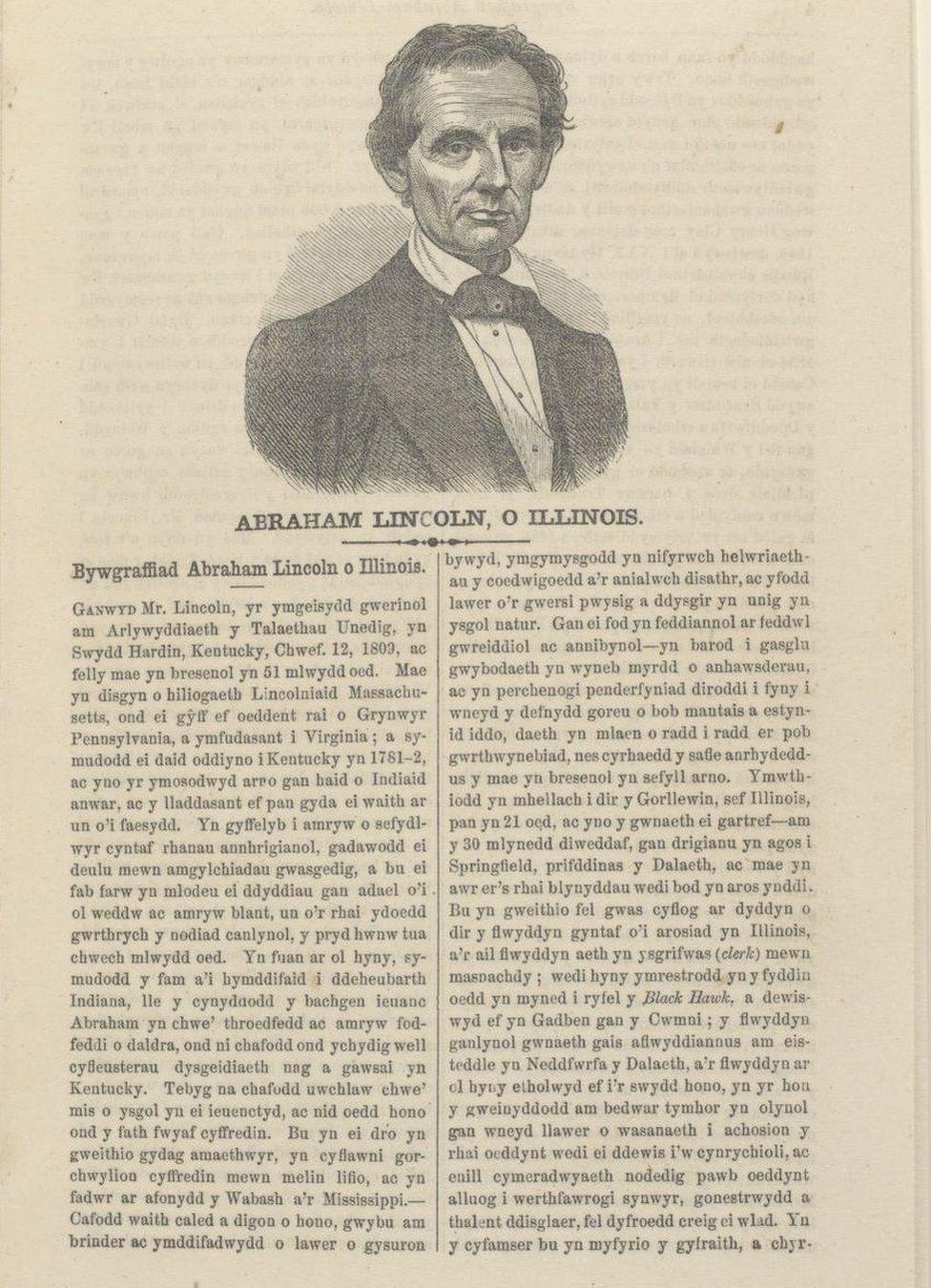 Pamffled etholiad 1860