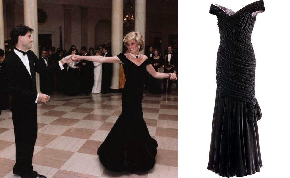 John Travolta and Princess Diana/Dress