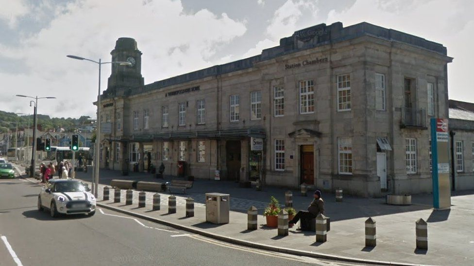 Exterior view of Aberystwyth Station
