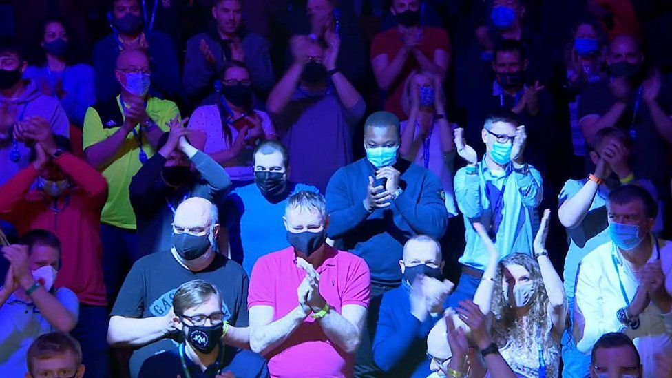 The Crucible crowd