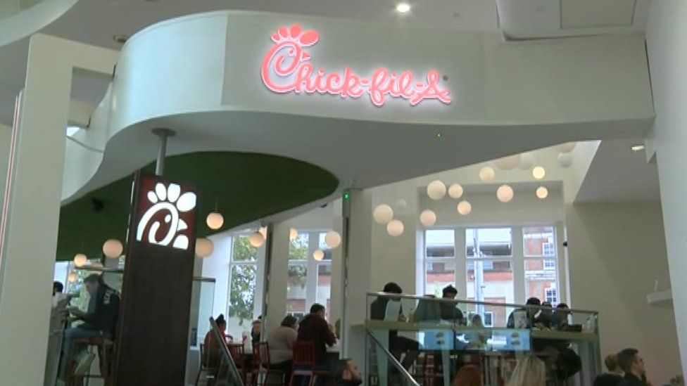 Chick-fil-A Reading restaurant
