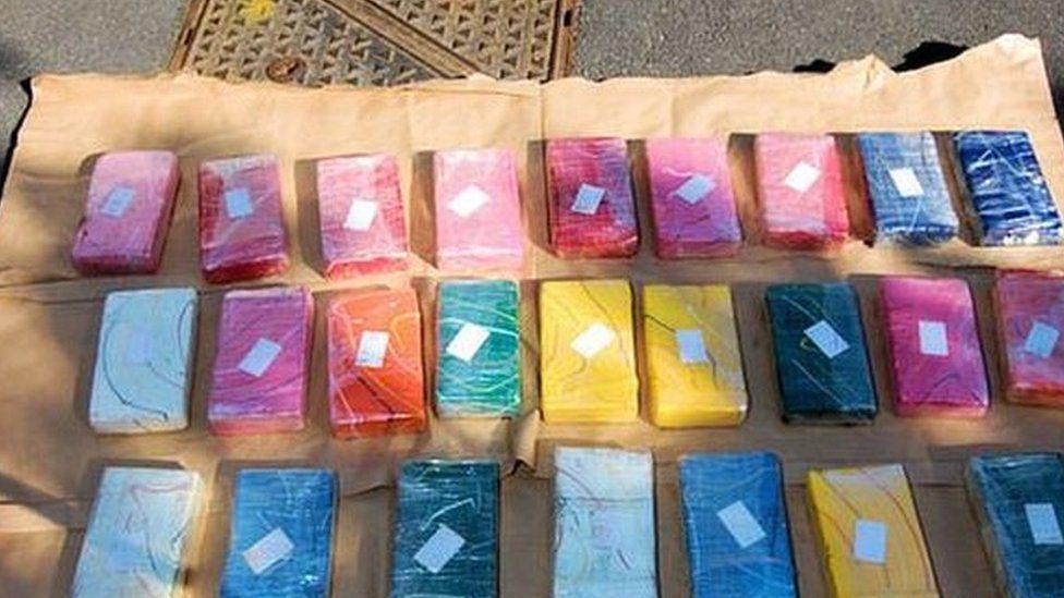 Cocaine seized near Tilbury Docks