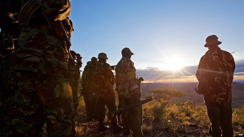 kenyan police in samburu