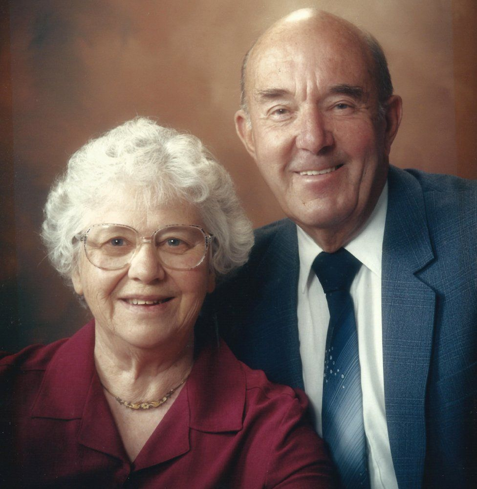 Mary Bilton and her husband Ron