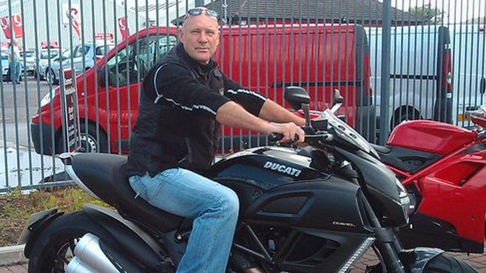 Nigel Hinton from Cardiff
