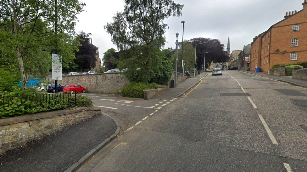 St Margaret Street in Dunfermline