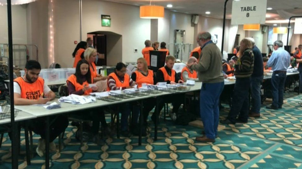 Counting in Newcastle-under-Lyme