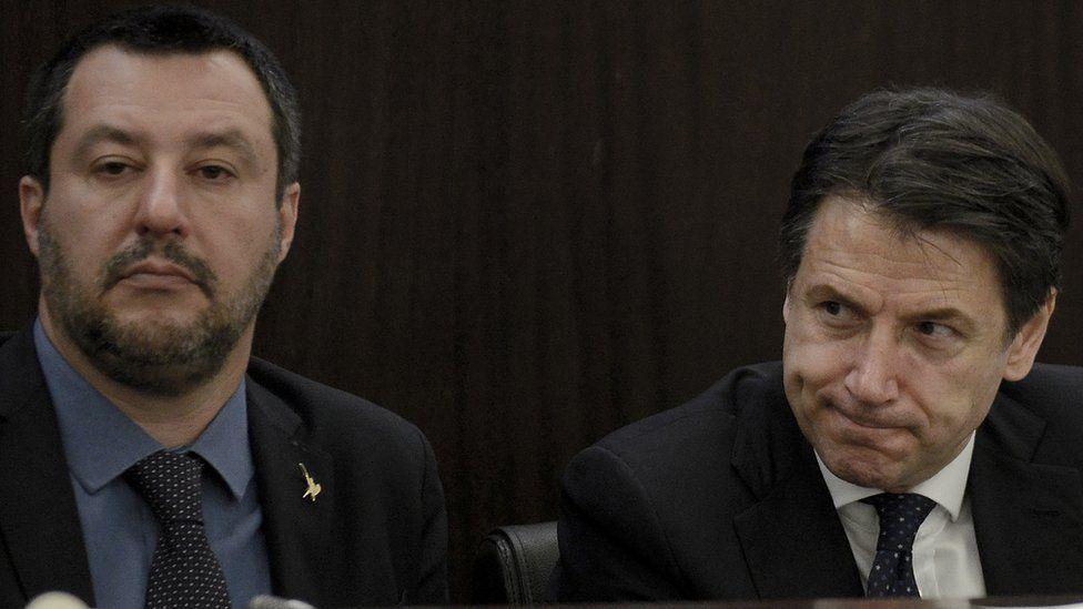 Open Arms vs Matteo Salvini: el duro regaño del primer ministro de Italia a su ministro del Interior por el barco que rescata migrantes