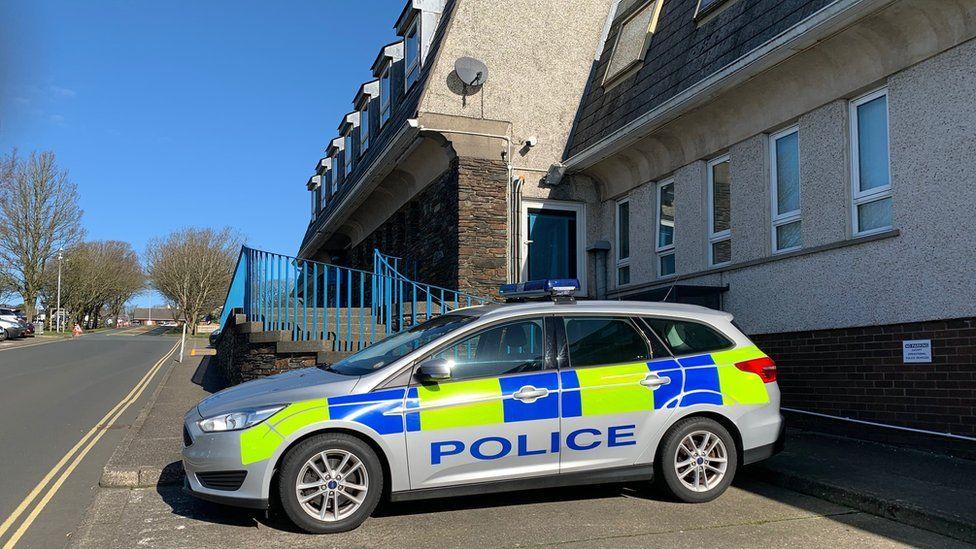 Isle of Man police headquarters