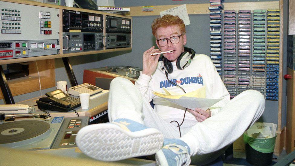 Chris Evans in 1995