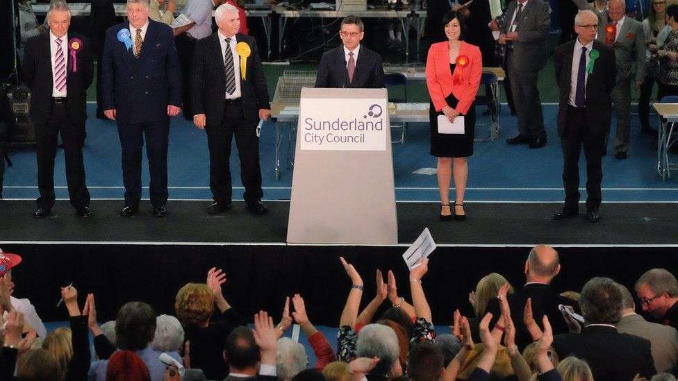 Sunderland South general election declaration