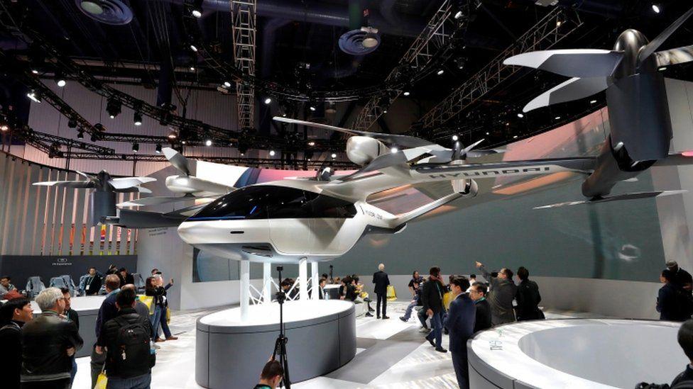 A flying car concept designed by Hyundai