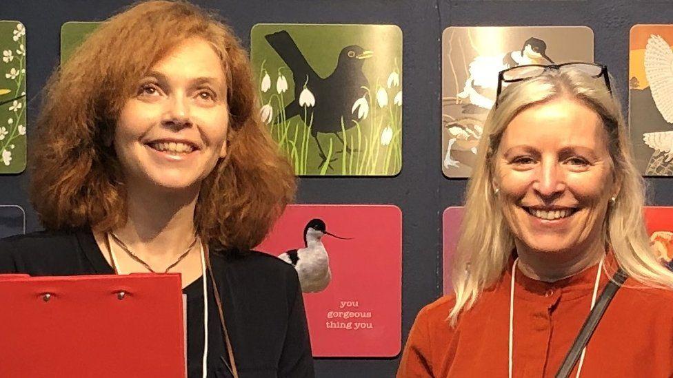 Sarah Whittley and Emma Denham