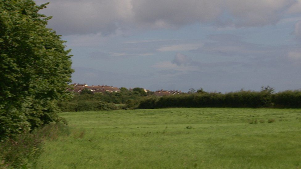 Proposed site of outdoor shooting range near Ballymacormick Road in Bangor