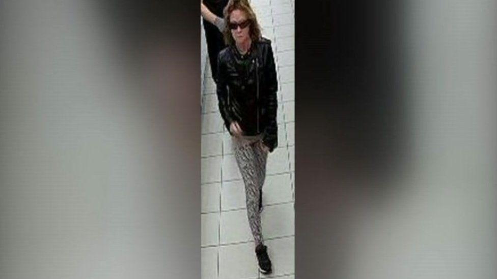 Sharon Fade CCTV image