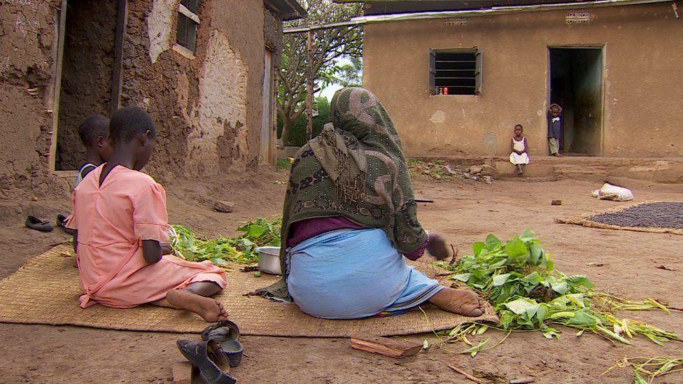 Family home in Ruhiira, Uganda