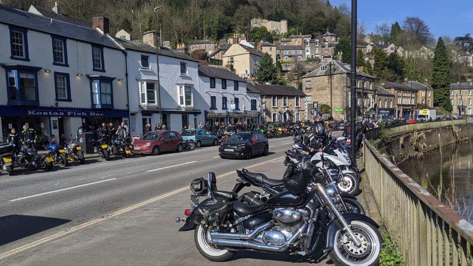 Crowds in Matlock Bath