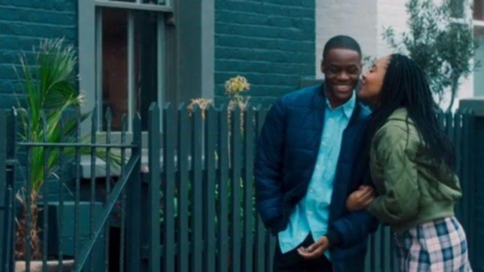 A screengrab of the film