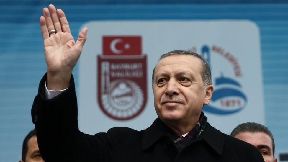 Turkish President Recep Tayyip Erdogan. Photo: 27 November 2015