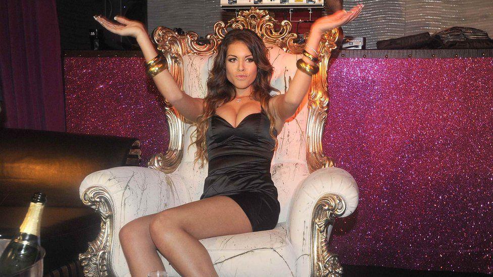 Teenage nightclub dancer Karima El Mahroug