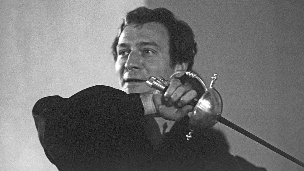 Christopher Plummer as Hamlet